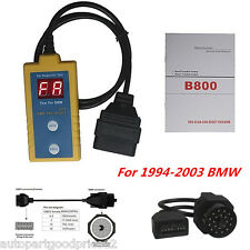 B800 Diagnostic Airbag Scanner SRS Reset Tool For BMW ODB2 OBD 1994-2003 20Pin