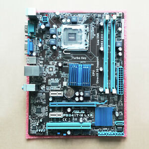 ASUS-P5G41T-M-LX3-For-Intel-Socket-LGA-775-uATX-PC-Motherboard-DDR3-Mainboard
