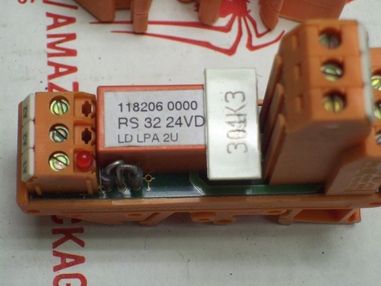 WEIDMULLER RELAY MODULE RS 32 RS-32 118206 0000