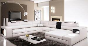 Firr Canapé Canapé Coussin Garniture Design Cuir Textile Paysage Landau Ws-afficher Le Titre D'origine Construction Robuste