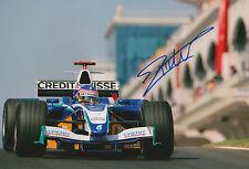 """Jacques Villeneuve """"Sauber"""" Autogramm signed 20x30 cm Bild"""