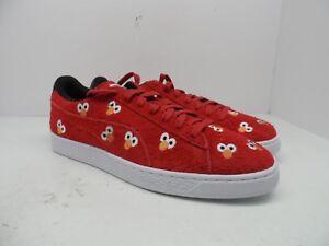 Puma Men s x Sesame Street Pack Classic ELMO Casual Shoe Red Size ... f80fffa10