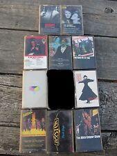 10 LOT Cassette Dokken Yes Kim Mitchell Accept Alice Cooper Boston Joe Walsh ZZ