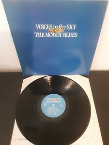 Voices-In-The-Sky-The-Best-Of-The-Moody-Blues-Vinyl-12-034-Compilation-LP-1984