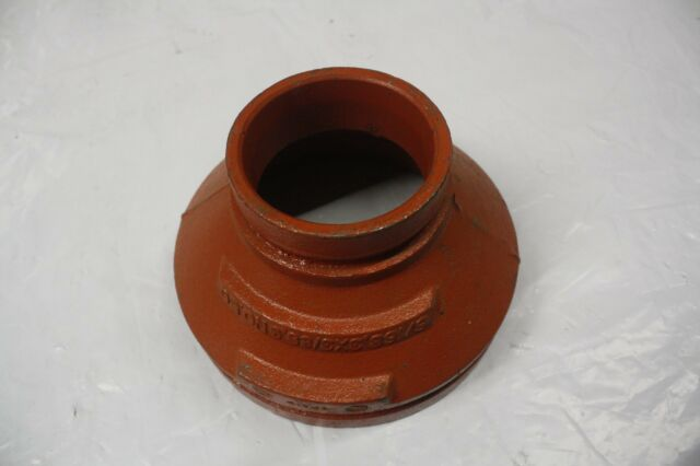 Victaulic No  50 Concentric Pipe Reducer 6-Inch x 3-Inch
