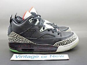 huge discount 99d8a b7bdf Image is loading Nike-Air-Jordan-Son-of-Mars-Low-Black-