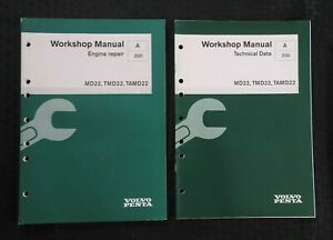 Details About Volvo Penta Md22 Tmd22 Tamd22 Diesel Engine Workshop Service Repair Manual