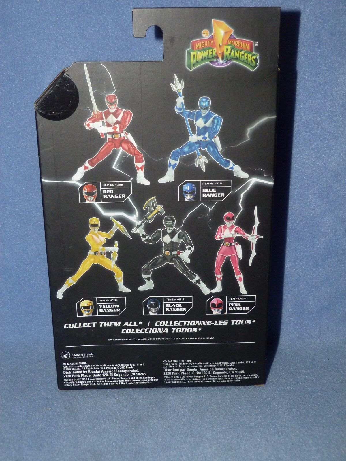 Power Rangers Legacy 16.5cm Figure - MIGHTY MIGHTY MIGHTY MORPHIN Metallic rot Ranger NEW cc6918
