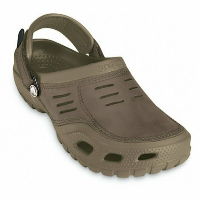df8ef0dc8537e Crocs Yukon Sport 10931 Clog for Men Khaki UK 12 for sale online | eBay