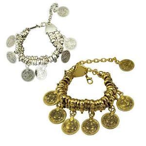 Bohemian-Bracelet-Ethnic-Turkish-Tribal-Boho-Tibet-Silver-Coin-Anklet-Jewelry