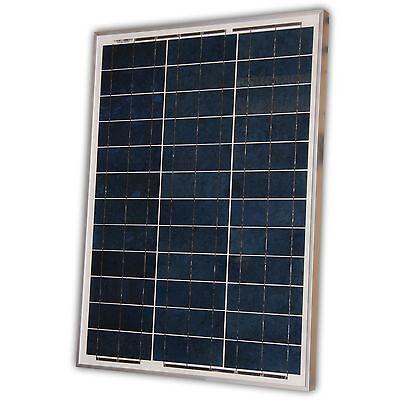 Solar Panel, Module 50 watt 50W 12V 12 volt cell Polycrystalline Poly