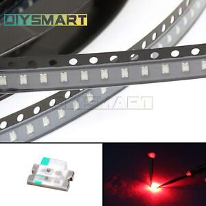 50 pcs SMD SMT 3528 Super bright GREEN LED lamp Bulb new