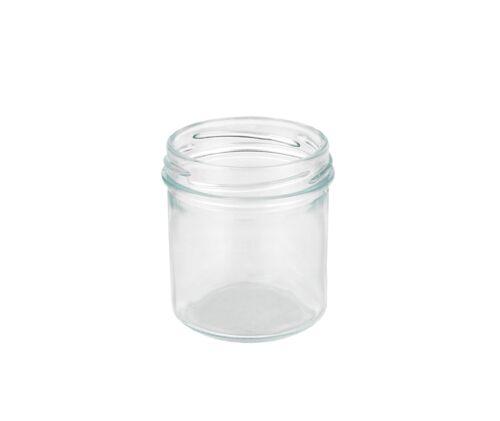 12 Sturzgläser 167ml weiß Marmeladengläser Einmachglas Einweckglas Glas Einweck