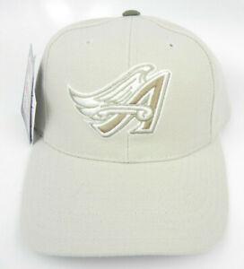 CALIFORNIA-ANAHEIM-LA-ANGELS-KHAKI-TAN-MLB-SNAPBACK-1990s-RETRO-CAP-HAT-PUMA-NEW