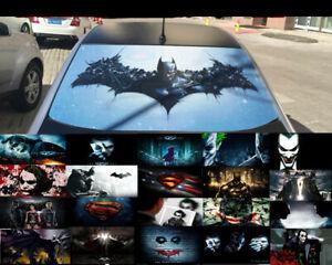 Details About Transpa Car Back Rear Window Decal Vinyl Sticker Batman Joker Superman