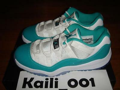 Nike Air Jordan 11 Retro Low Gp Ps Turbo Green Concord Snake 580522 143 B Ebay