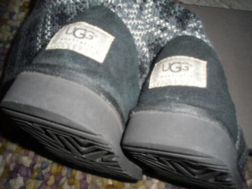la Tamaño rodilla hasta Botas Uggs caja dos Wool En rodilla Mix veces Striped Usado 41 hasta la qFWf8HTw