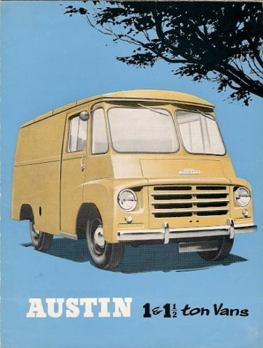Austin Ld M20 M30 Delivery Van Early 1960s Uk Market Sales Brochure For Sale Online Ebay