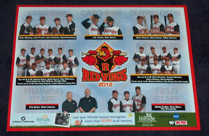 2012-SGA-Rochester-Red-Wings-team-photo-picture-9-X-12-AAA-Triple-A-Minors-Minor