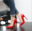 Womens Patent Leather Pointed Toe Stilettos High Heels Shoes OL Dress Party Pump