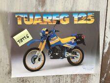 Aprilia Tuareg 125 prospectus moto brochure dépliant publicité