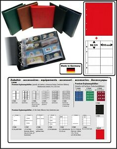 Look-Album-pour-la-Monnaie-Optus-Vert-Coincards-5x-Pochettes-Zwl-R-40