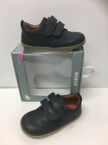 """Bobux Step up Boys  First Walkers  """"Dress Shoe"""" in Navy was £38 now Only £26.90"""
