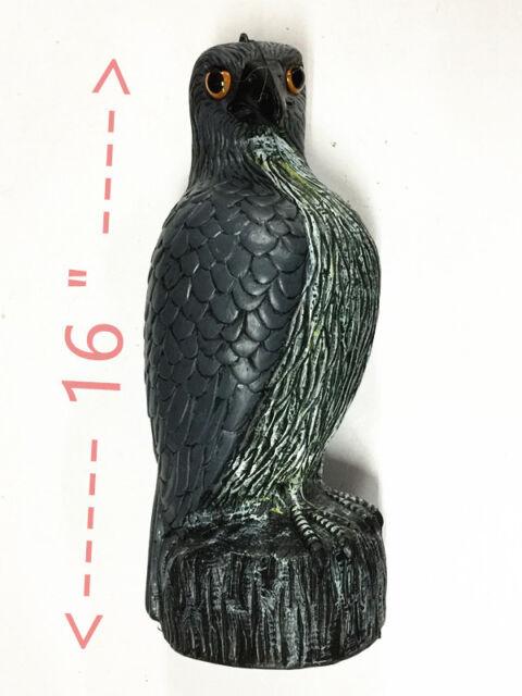 1x Fake Eagle Hawk Hunting Decoy Pest Control Bird Pigeon Scarer Garden Decor