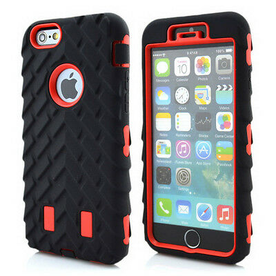 New Rugged Heavy Duty Case Cover For Apple iphone 6 plus 5.5 Samsung Galaxy S6