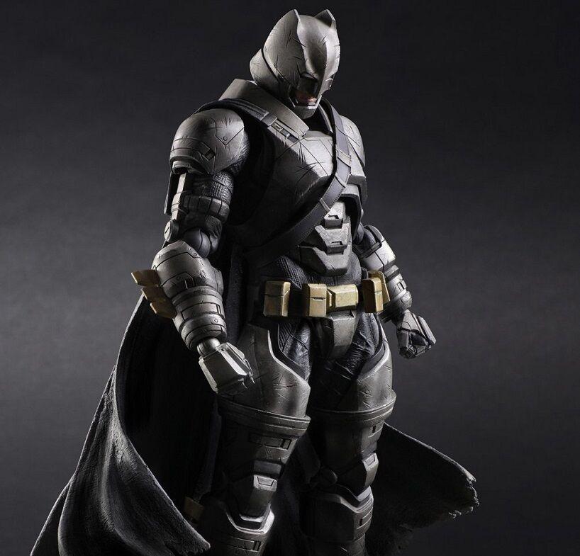 New  Play Arts Kai BATMAN Batman vs Superman Dawn of Justice Action Figure Japan