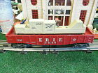 Postwar Lionel 3444 Erie Animated Gondola Car With Hobo
