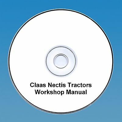 Claas Nectis Workshop Repair Manual Easy To Repair Business, Office & Industrial Agriculture/farming
