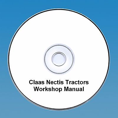 Claas Nectis Workshop Repair Manual Easy To Repair Agriculture/farming Other Tractor Publications