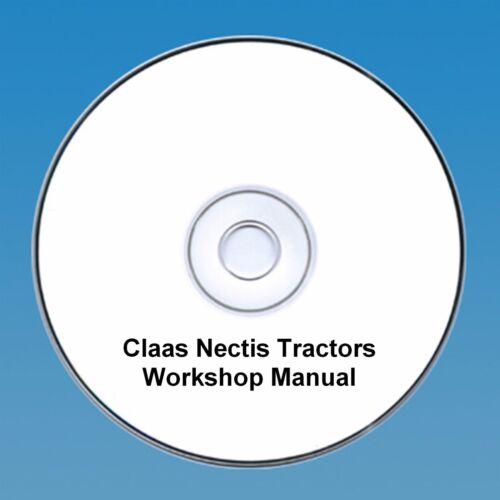 Claas Nectis Taller reparación Manual