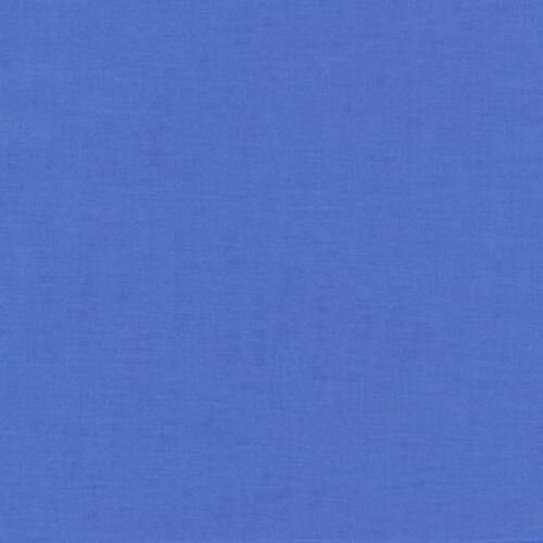 "Kona Cotton-/""Lapis/""-By The Yard-R Kaufman-Solid Color"