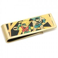 Vintage Brass Batman Comic Strip Money Clip Free Shipping Super Heroes Hero
