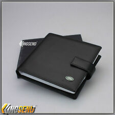 new LAND ROVER PU Leather CD Case Car DVD Holder Men Disc Album Disk Storage Box