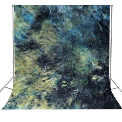 Hand Painted Photo Background Backdrop Photo Studio Tie Dyed Muslin 6 x 9ft.