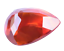 thumbnail 8 - Flawless 4.90 Ct Natural Fire Orange Sapphire CERTIFIED Pear Sparkling Gemstone