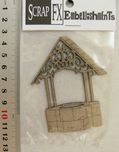 WISHING WELL CHIPBOARD HOURGLASS /& WEATHER 4Style Choice Scrap FX G WINDMILL