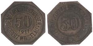 Oberzwieselau, 50 Peniques, 1917 Recién Acuñado 52369