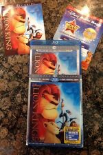 The Lion King 3D(Blu Ray/DVD,2011,4-Disc,Diamond Ed+Digital) Authentic Disney