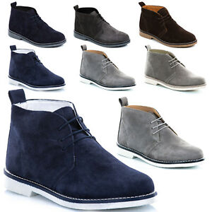 Shoes-man-Boots-Genuine-Leather-Ankle-Boots-Lace-Sneakers-Classic-t48