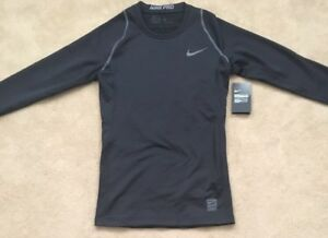 2f7bb87e13b6 Image is loading Mens-Nike-Pro-Hypercool-Fitted-Compression-Baselayer-Top-