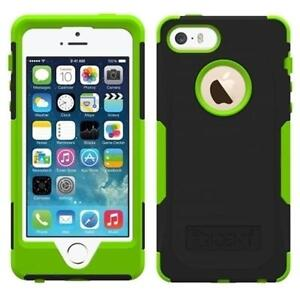 new styles 2ad64 70544 Details about NEW GENUINE TRIDENT AEGIS CASE FOR NEW IPHONE 5 5S SE GREEN  BLACK TOUGH