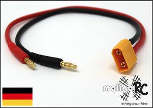 XT90-Ladekabel-Bananenstecker-auf-XT90-male-RC-Akku-Charching-Cable-Lipo-Akku