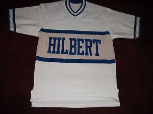 VINTAGE HILBERT COLLEGE DURENE DUREEN JERSEY,HAMBURG,BUFFALO,NY CIRCA 1960'S-70s