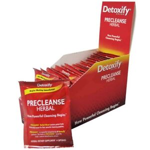 1x-single-pksl-Detoxify-PRECLEANSE-Herbal-Dietary-Supplement-6-Pills-Detox-d72