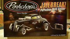 1/18 ACME GMP PORKCHOPS JAILBREAK 1933 Blown Hemi Gasser Black 1 of 960 NIB NEW