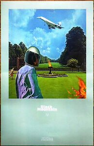 BLACK-MOUNTAIN-IV-2016-Ltd-Ed-New-RARE-Poster-FREE-Rock-Punk-Indie-Pop-Poster
